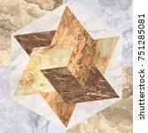 marble texture. marble tiles.... | Shutterstock . vector #751285081