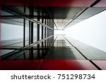abstract image of glass and... | Shutterstock . vector #751298734