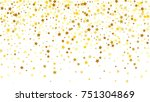 many random falling stars... | Shutterstock .eps vector #751304869
