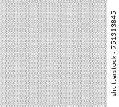 knitted seamless pattern. white ... | Shutterstock .eps vector #751313845