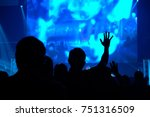 christian worship god  with...   Shutterstock . vector #751316509