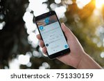 chiangmai  thailand   nov 9 ...   Shutterstock . vector #751330159