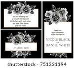 vintage delicate invitation...   Shutterstock .eps vector #751331194