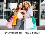 sale  consumerism and people... | Shutterstock . vector #751354534