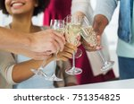 celebration  people and... | Shutterstock . vector #751354825