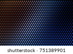 light blue  red vector pattern... | Shutterstock .eps vector #751389901