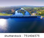 Aerial View Of Hume Weir On...