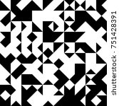 black and white  abstract... | Shutterstock .eps vector #751428391