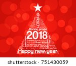 2018 Happy New Year In...