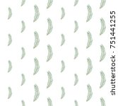 christmas seamless pattern with ... | Shutterstock .eps vector #751441255