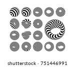 abstract design element.... | Shutterstock .eps vector #751446991
