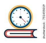 flat vector illustration of... | Shutterstock .eps vector #751455019