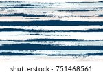 hand drawn stripes in... | Shutterstock .eps vector #751468561