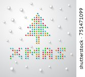 """christmas tree and   font """"xmas""""... 