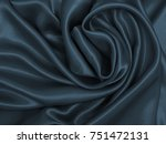 Smooth Elegant Dark Grey Silk...