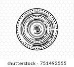 technology vector background... | Shutterstock .eps vector #751492555