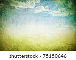 grunge background with space... | Shutterstock . vector #75150646