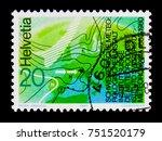 moscow  russia   october 3 ...   Shutterstock . vector #751520179