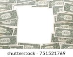 Small photo of white background, photo frame of dollars us , bcc, bit, bit-coin, bitcoin, blockchain, broker, btc