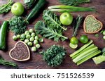 mixed vegetables  legumes for... | Shutterstock . vector #751526539