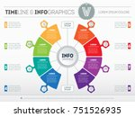 vector infographics of... | Shutterstock .eps vector #751526935