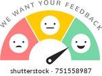 feedback concept design ...   Shutterstock .eps vector #751558987