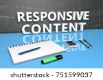 responsive content   text...