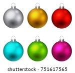 Colorful Christmas Ball