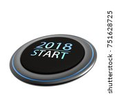the happy new year conceptual... | Shutterstock . vector #751628725