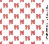 seamless pattern background... | Shutterstock .eps vector #751636567