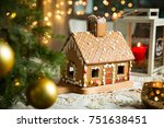 Little Gingerbread House With...