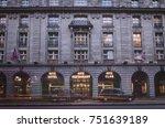 london  november  2017  the... | Shutterstock . vector #751639189