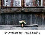 bridal bouquet   Shutterstock . vector #751655041