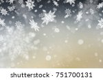 christmas abstract background... | Shutterstock . vector #751700131