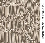 seamless vector pattern of... | Shutterstock .eps vector #751708744