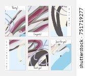 hand drawn creative universal... | Shutterstock .eps vector #751719277