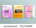abstract colorful business... | Shutterstock .eps vector #751720489