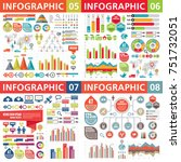 infographic business design... | Shutterstock .eps vector #751732051