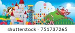 vector illustration of... | Shutterstock .eps vector #751737265