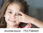 Beautiful Eyes Of A Child With...