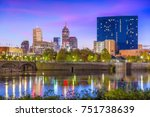 indianapolis  indiana  usa... | Shutterstock . vector #751738639