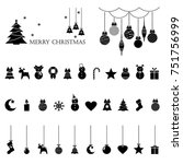Set Of Christmas Icons ...