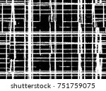 black white seamless grunge... | Shutterstock .eps vector #751759075