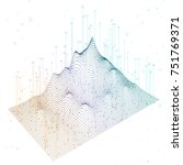 abstract infographics... | Shutterstock .eps vector #751769371