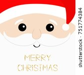 Merry Christmas Text. Santa...