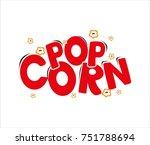 logo pop corn | Shutterstock .eps vector #751788694