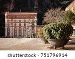 santa maria de montserrat is a... | Shutterstock . vector #751796914