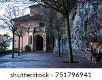 santa maria de montserrat is a... | Shutterstock . vector #751796941