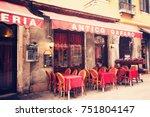 venice  italy   january 2015 ... | Shutterstock . vector #751804147