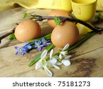 easter eggs | Shutterstock . vector #75181273